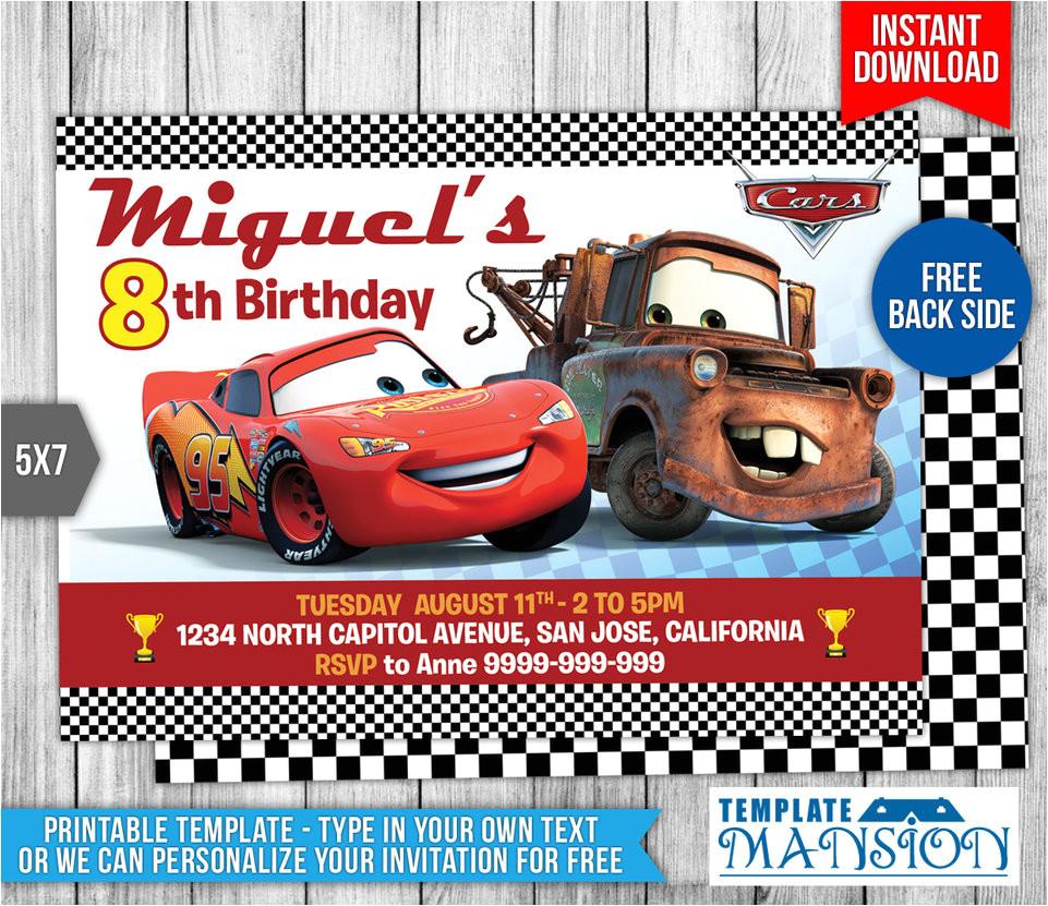 disney cars birthday invitation 1 554589251