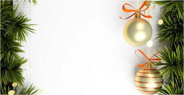 blank christmas invitation template