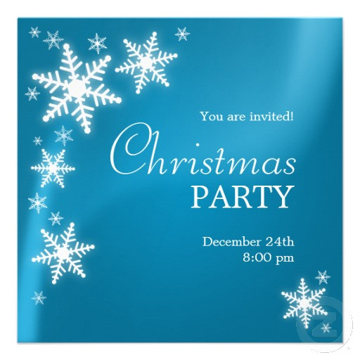 start planning your christmas party now