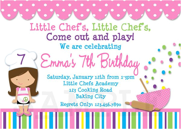 invitations to a birthday party 2