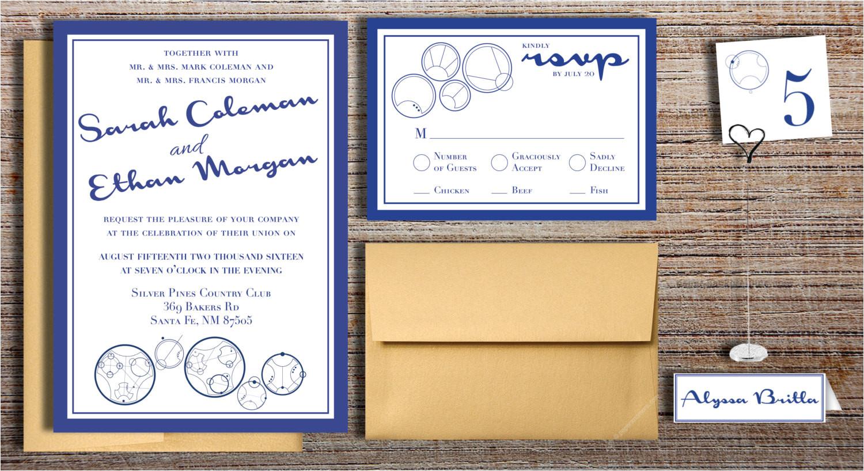 gallifreyan doctor who inspired wedding invitation package rsvp