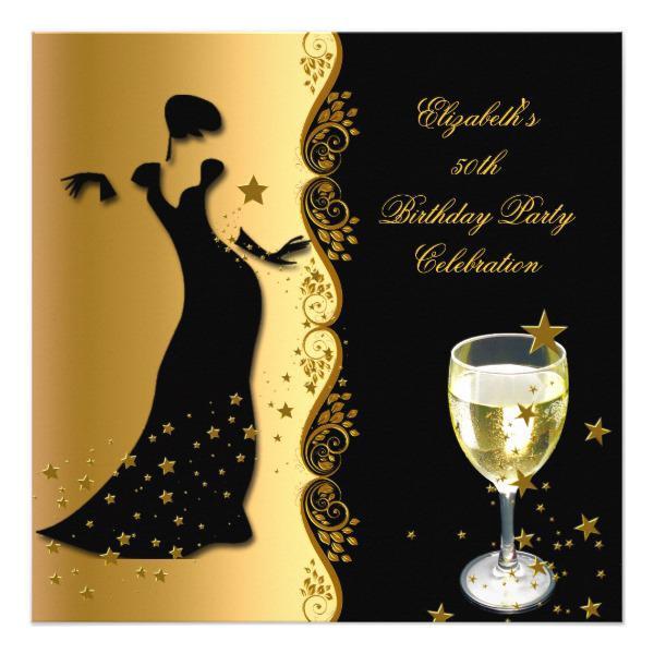 elegant birthday invitations
