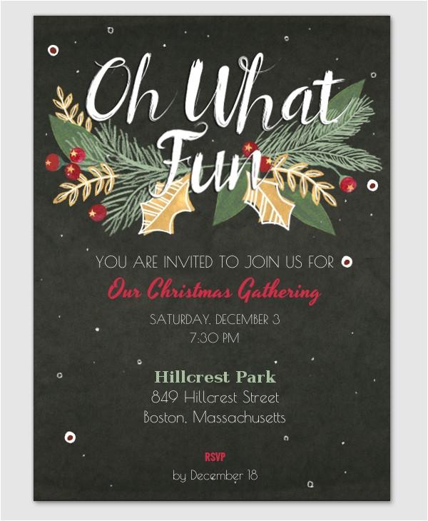 inspiring free elegant holiday invitation templates picture