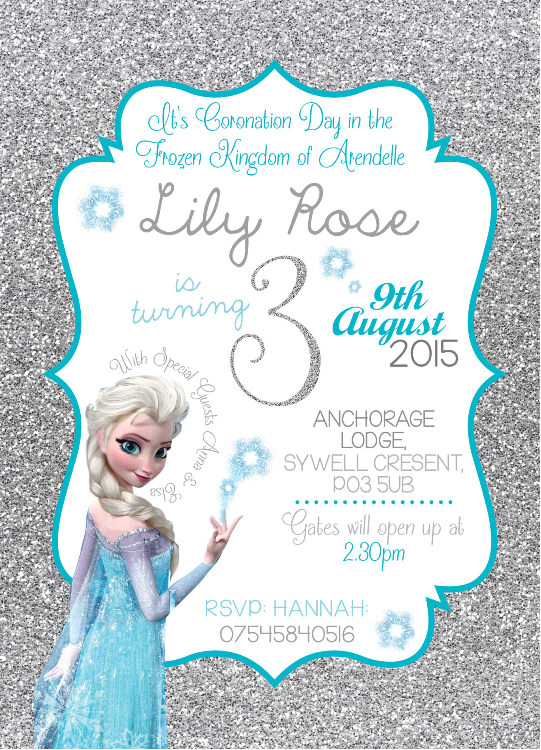 disney frozen birthday invitation queen ref shop home active 2