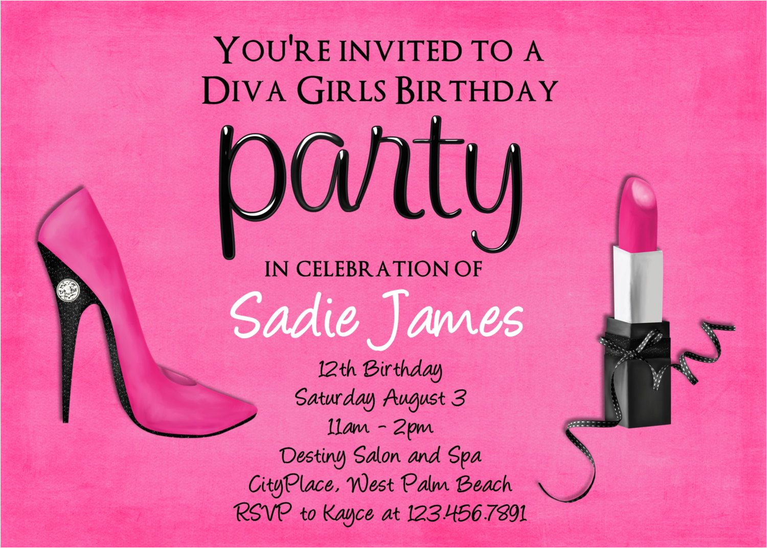 18th birthday invitation templates free