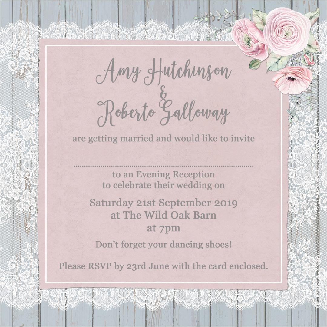 example of wedding invitation card wording  wmmfitness