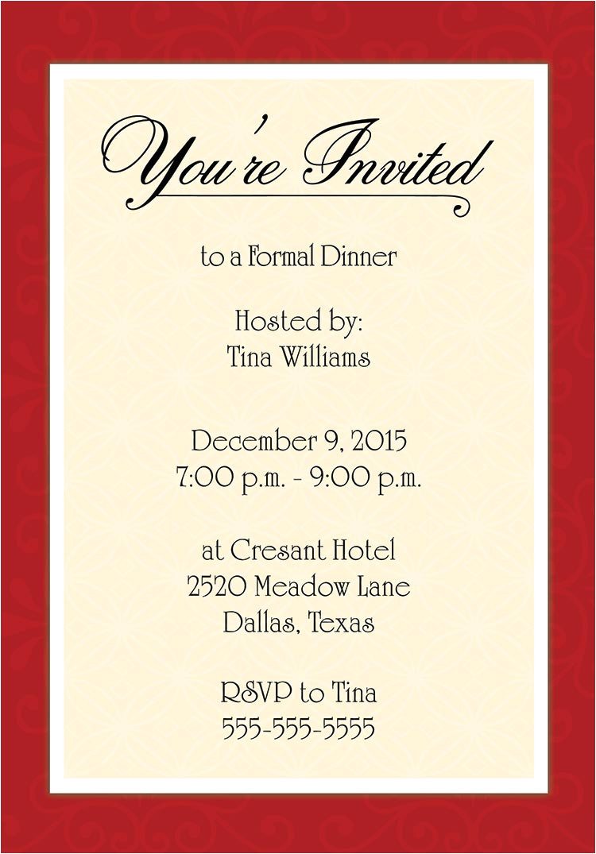 category invitation