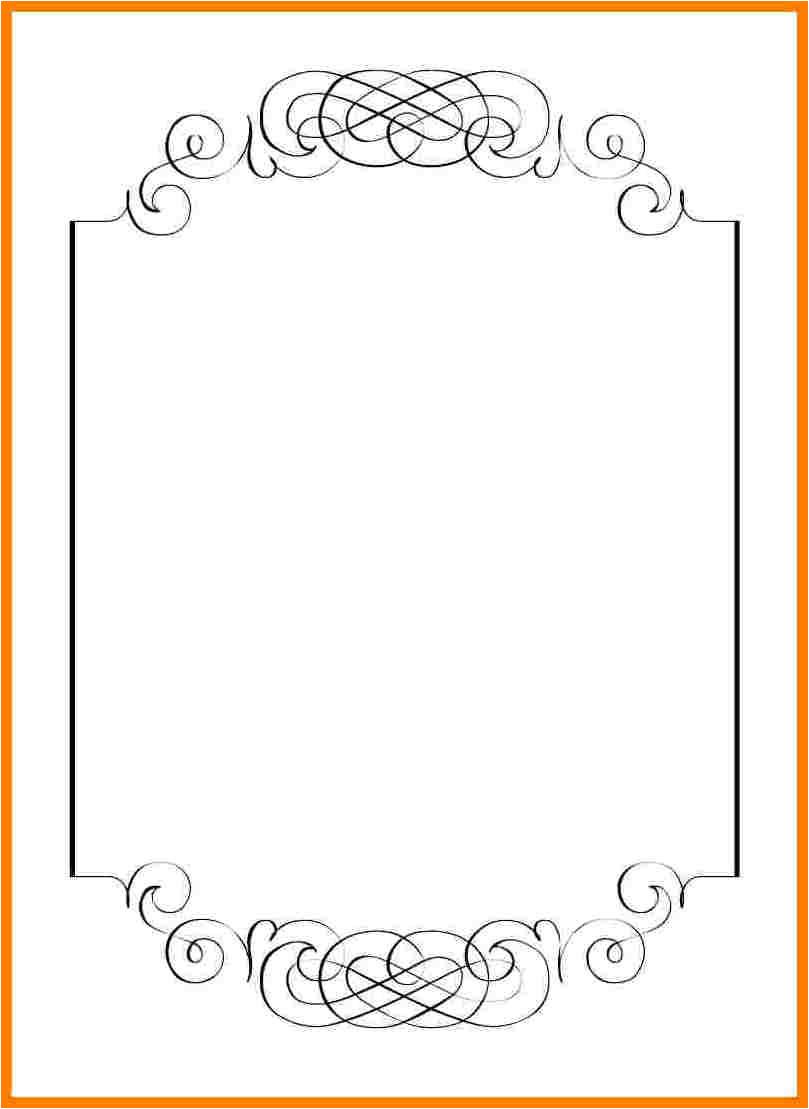 7 blank wedding invitation templates