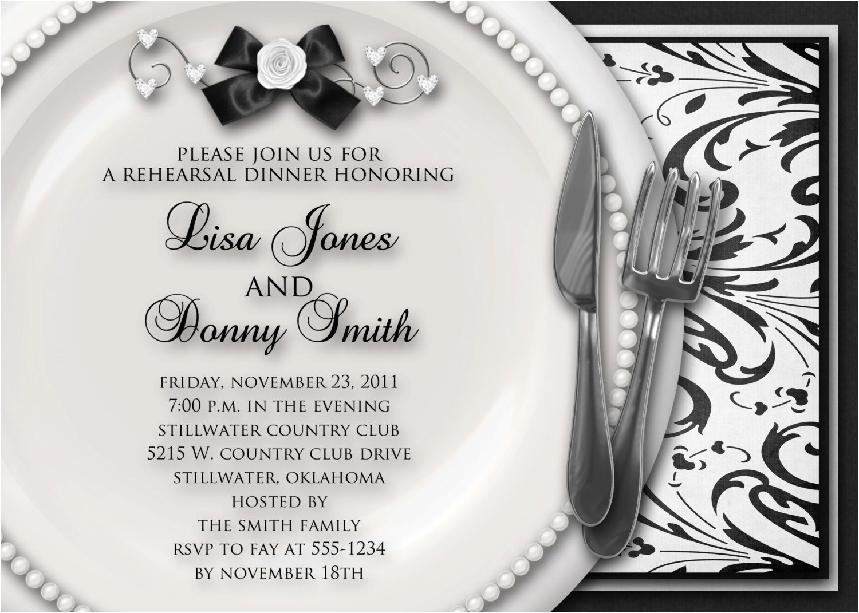 dinner party invitation sample