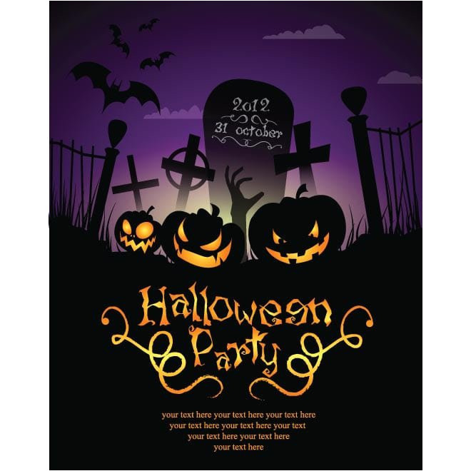 halloween invitations templates free