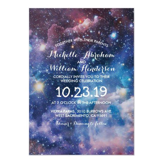 nebula cosmic space galaxy colourful invitation 256089253785088540