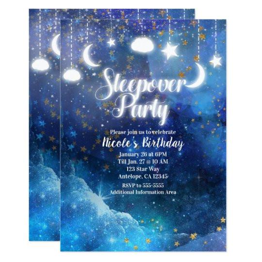 pancakes and pajamas sleepover party invitation 161312201884954232