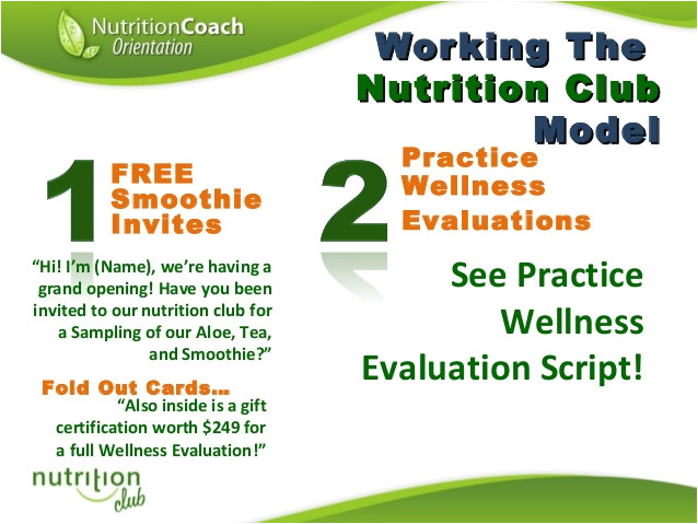 herbalife shake party flyer