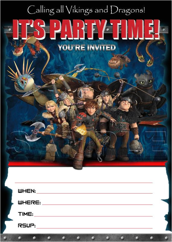how to train your dragon 2 birthday