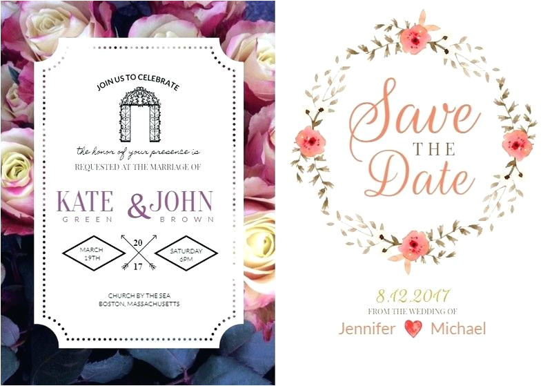 wedding cards invitation template