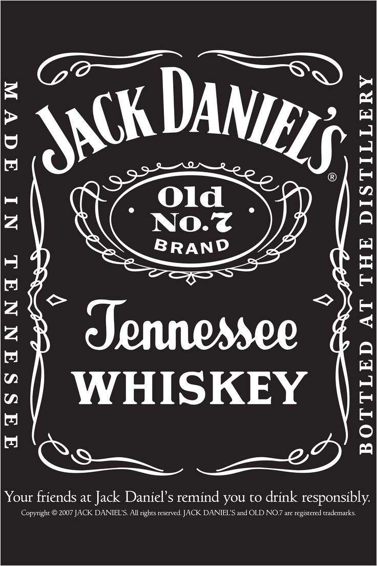 jack daniels invitation templates