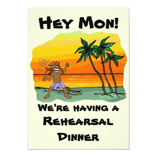 hey mon jamaica beach wedding rehearsal dinner invitation 161359667394118636