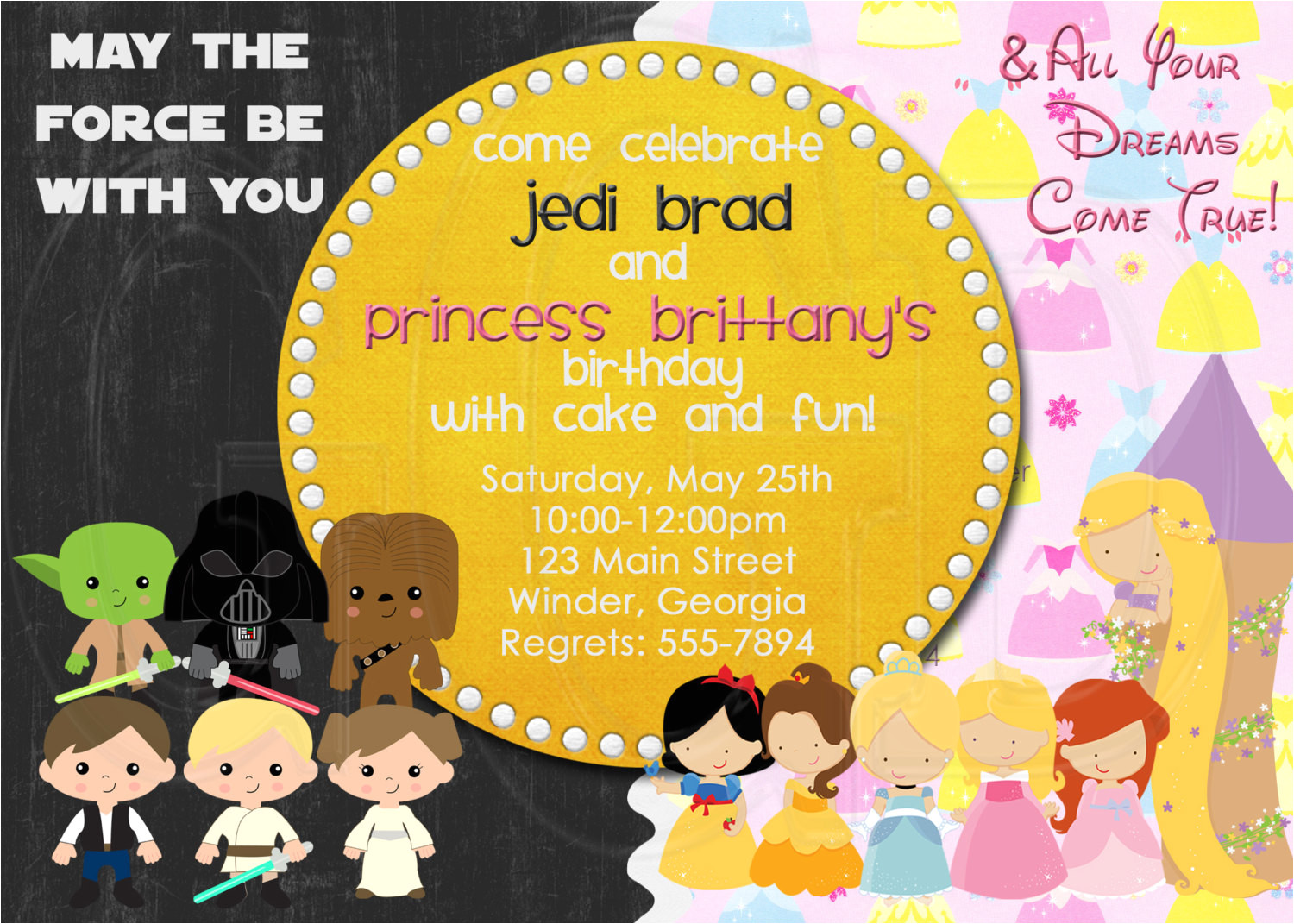 joint birthday party invitation wording