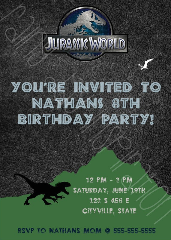 jurassic world dinosaur birthday party