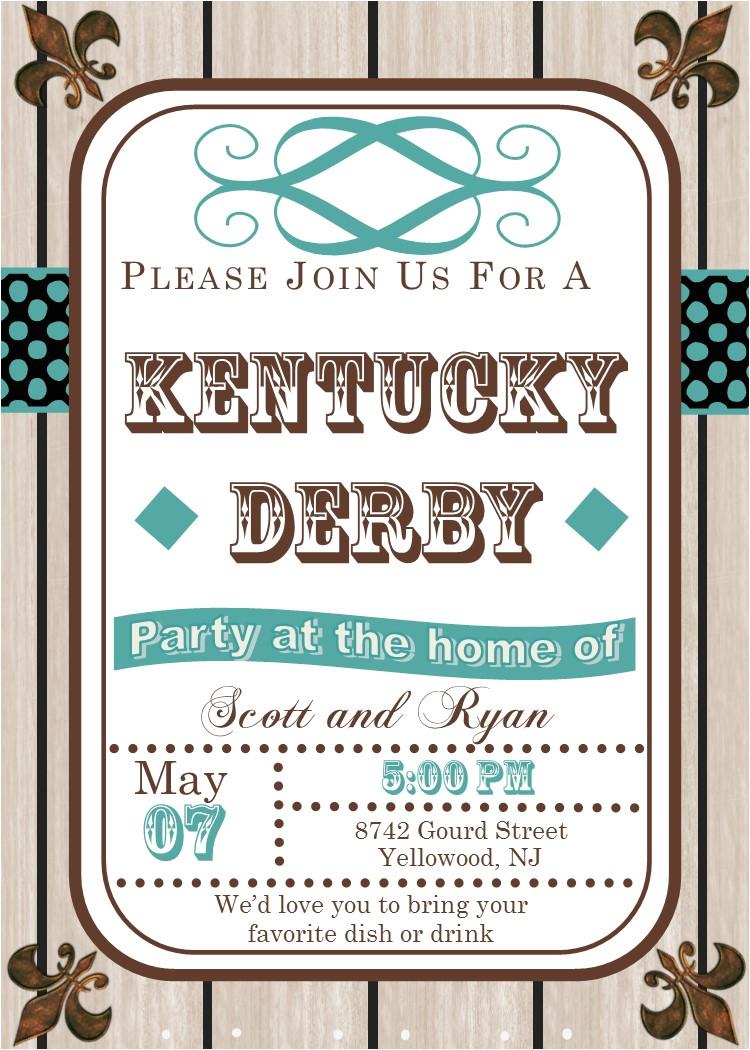 seasonal kentucky derby