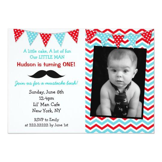 little man mustache birthday party invitations 161755668947879956
