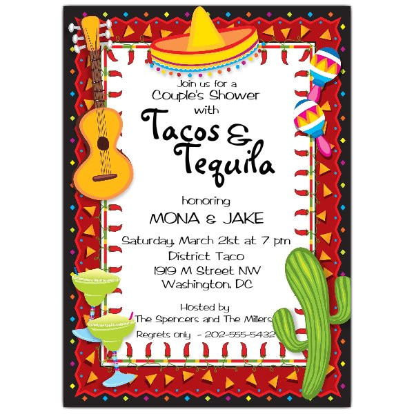 mexican party fiesta invitations p 643 57 306