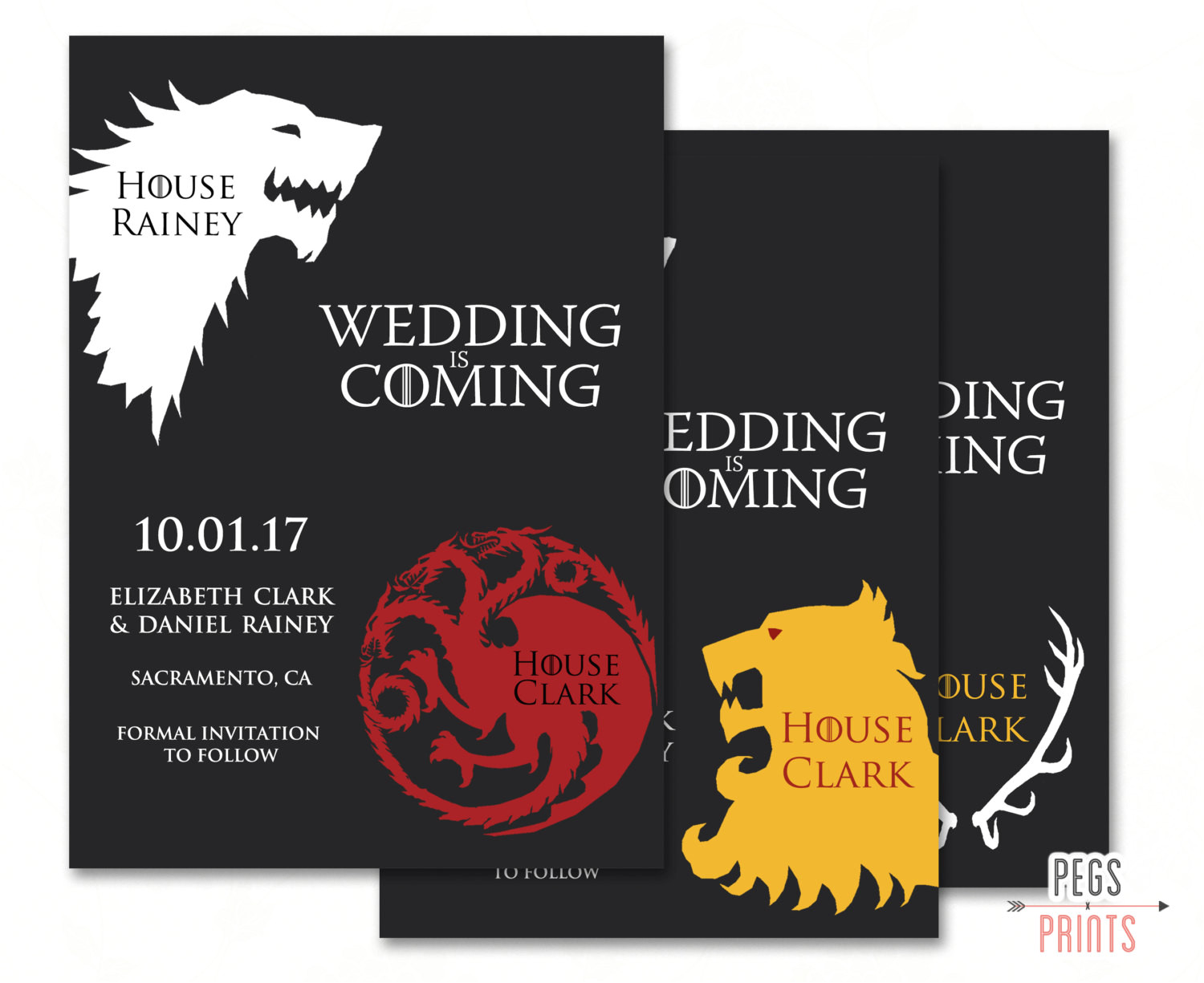 geek save the date game of thrones save