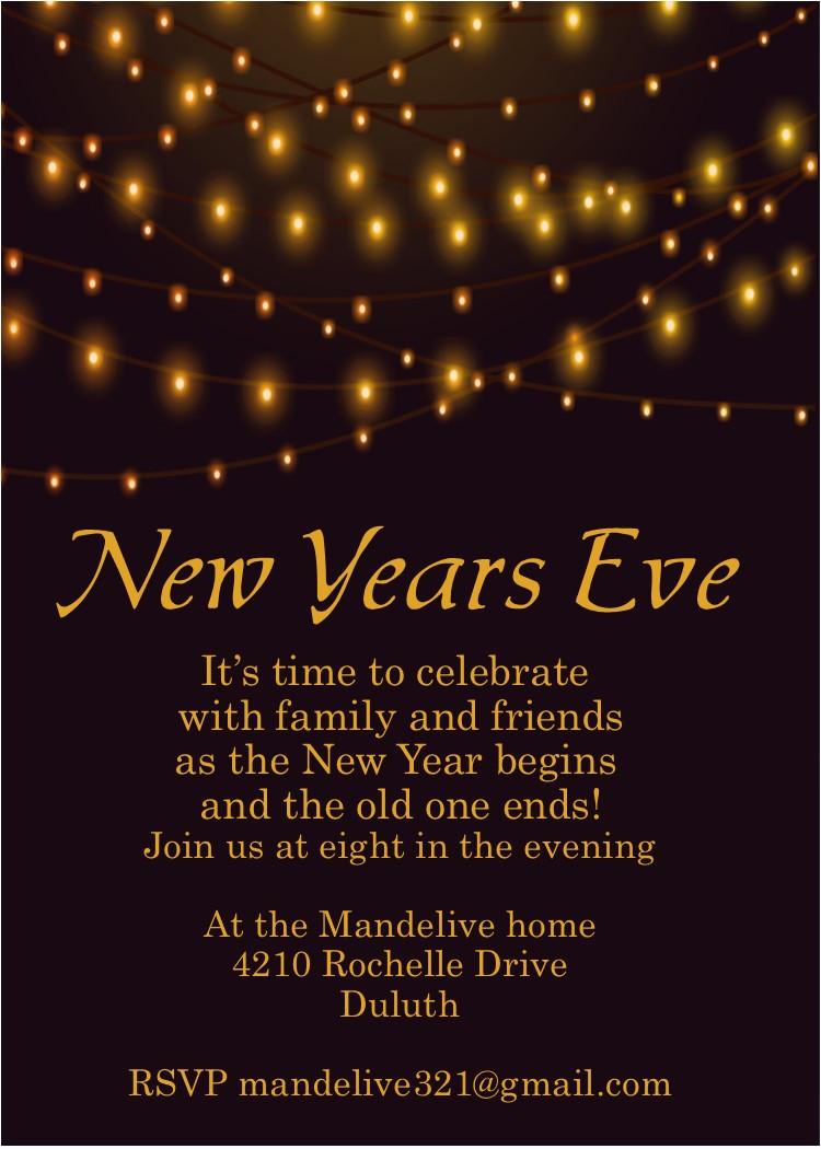 seasonal new years eve