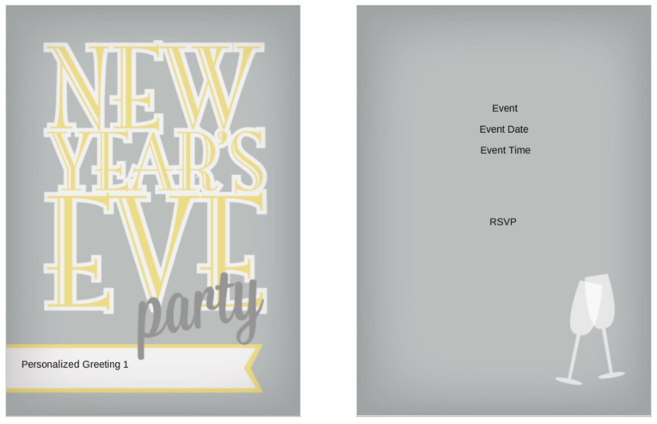 10 free new years eve party invitation templates