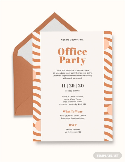 office opening invitation card