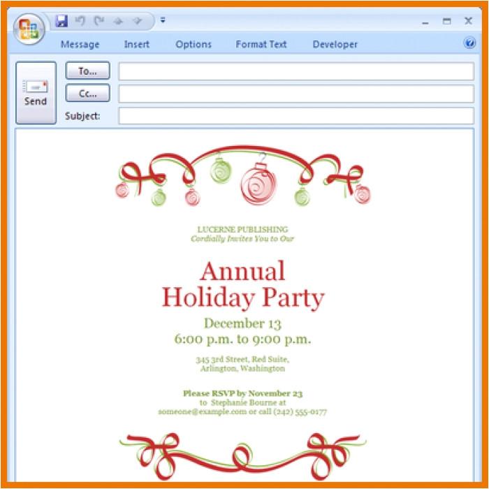 great microsoft office templates holiday invitation ideas