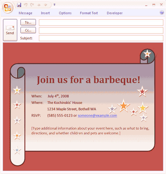 27 images of outlook invitation template download 1956
