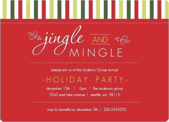outlook holiday party invitation template