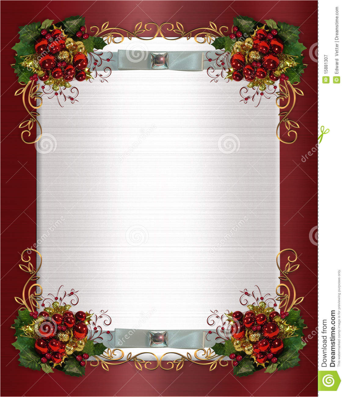 royalty free stock photography christmas winter wedding border image15881307