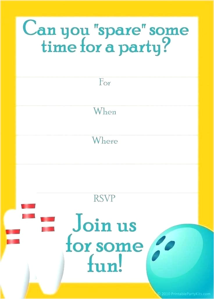 free bowling party invitation template word bowling party invitation templates new free bowling birthday party invitations lovely surprise home improvement stores near me
