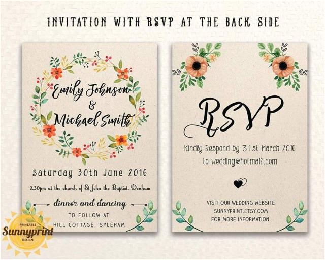 25 inspiration photo of wedding invitation maker
