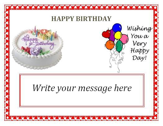 free editable birthday invitation cards