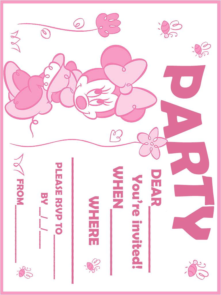 free printable invitation for birthday