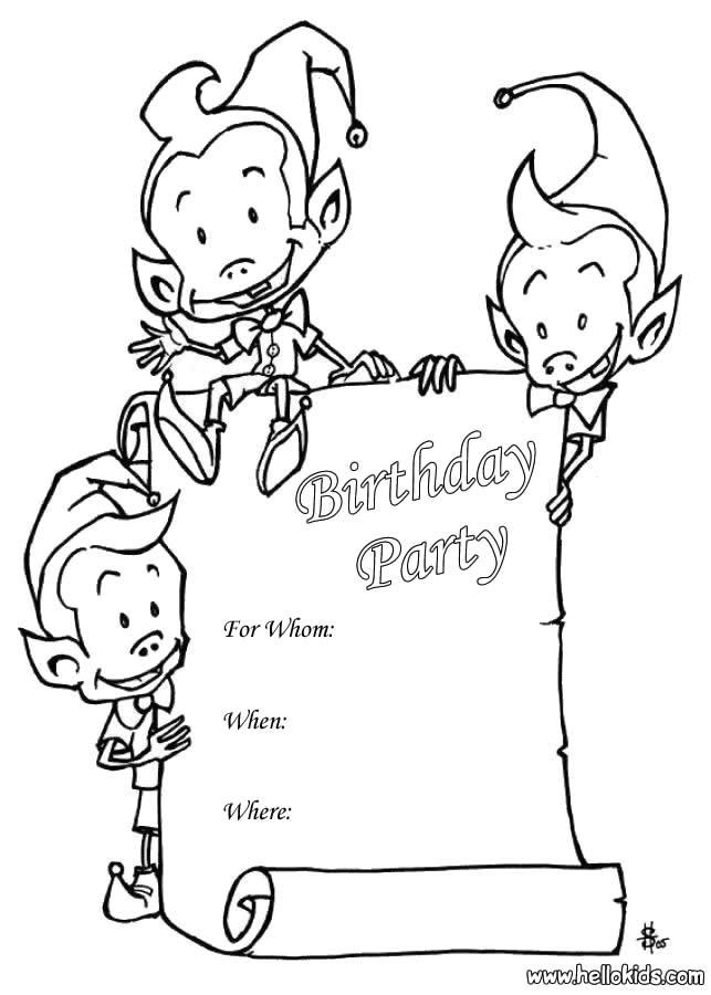 sprite birthday party invitation