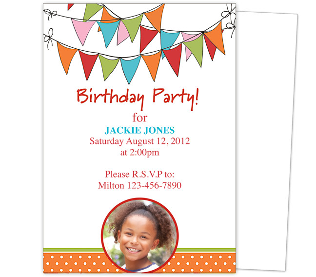 Party Invitation Template Free Word Celebrations Of Life Releases New Selection Of Birthday