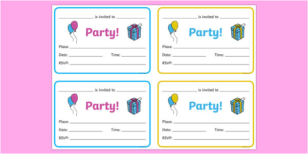 t t 256 party invitations