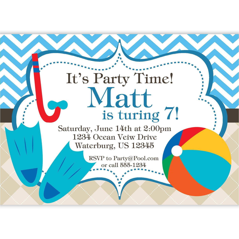 party invitation template ks1