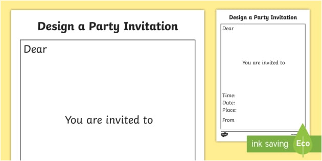 party invitation templates t t 5061