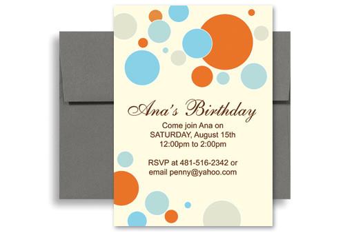 birthday invitation templates for