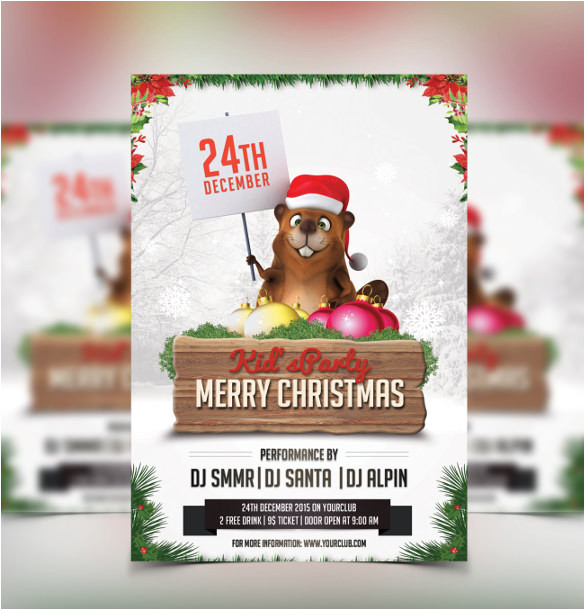 sample christmas invitation