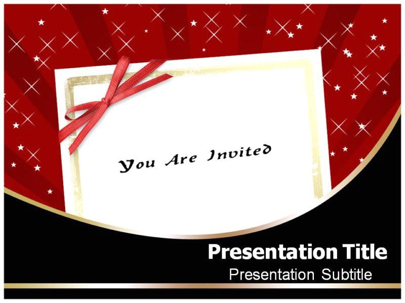 invitation powerpoint templates