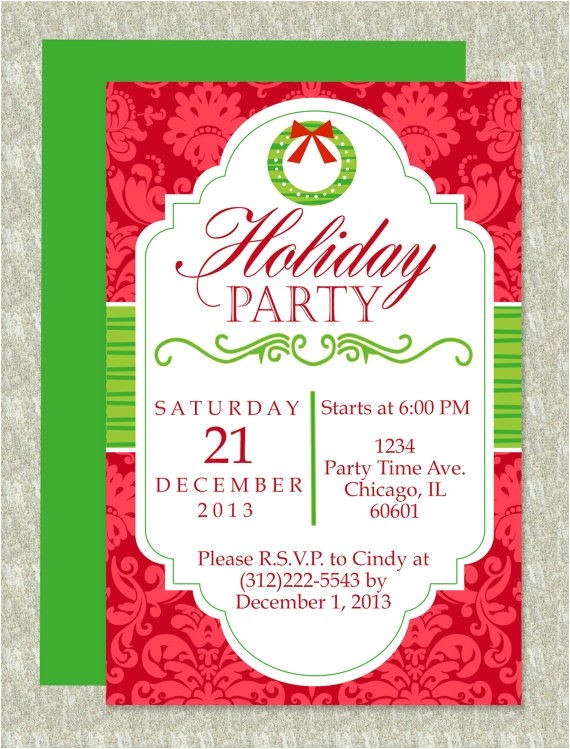 great free editable christmas party invitation templates gallery