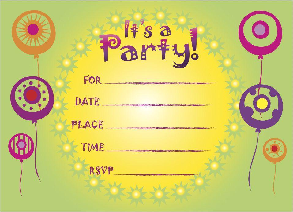 birthday invitation templates afrikaans