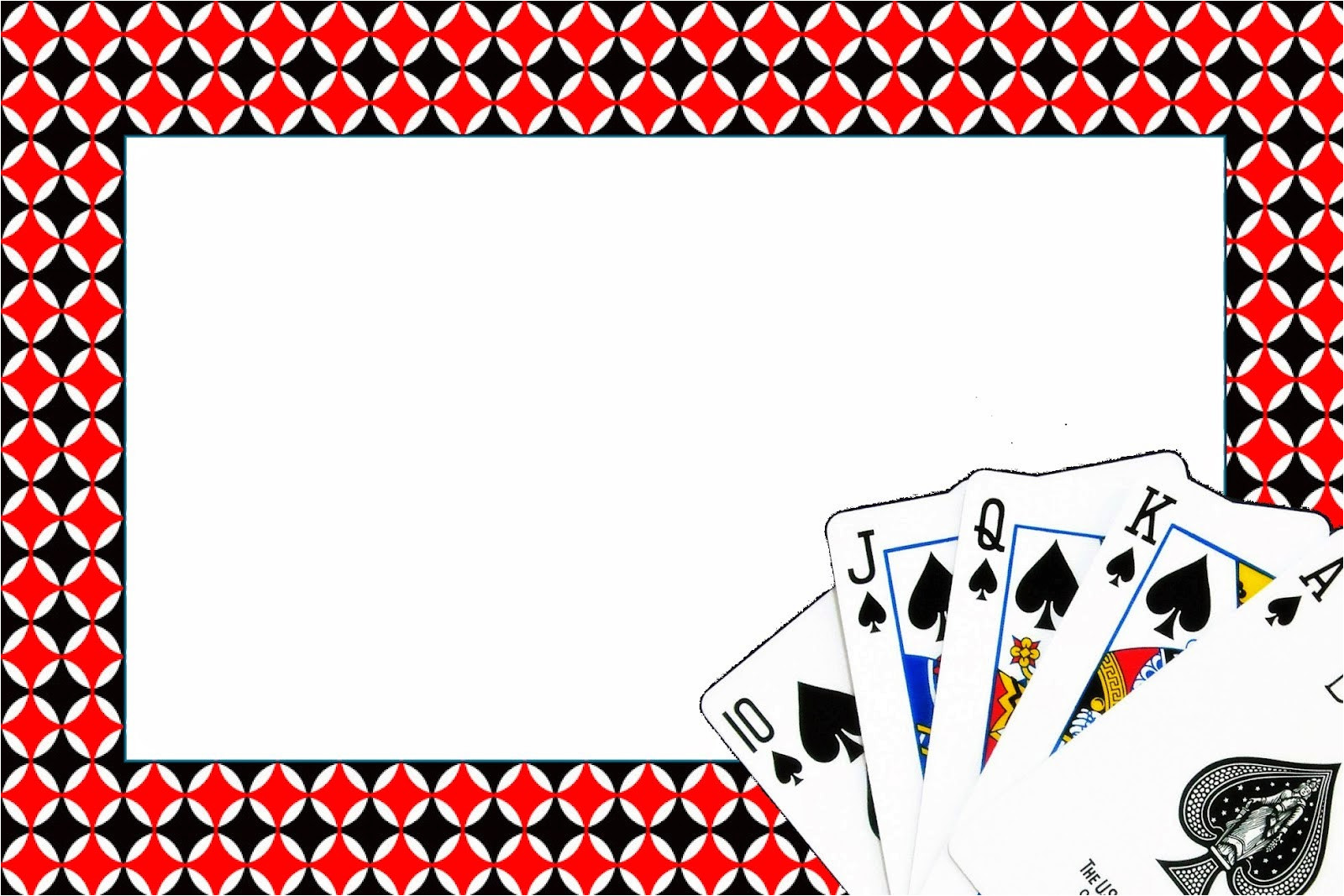poker free printable invitations and
