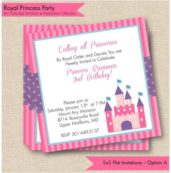 royal princess printable party